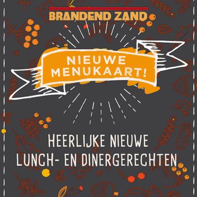nieue menuaaakrt restaurant Brandend Zand